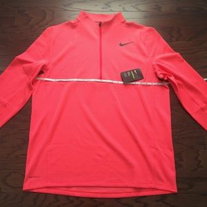 Nike AeroReact Top Half Zip Golf Pullover Mens XL